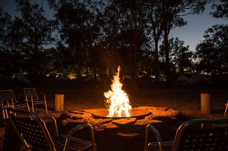 campfire at Wallaroo